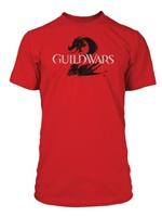 Tričko Guild Wars 2 - červené XL