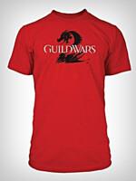 Tričko Guild Wars 2 - červené (velikost S) (PC)