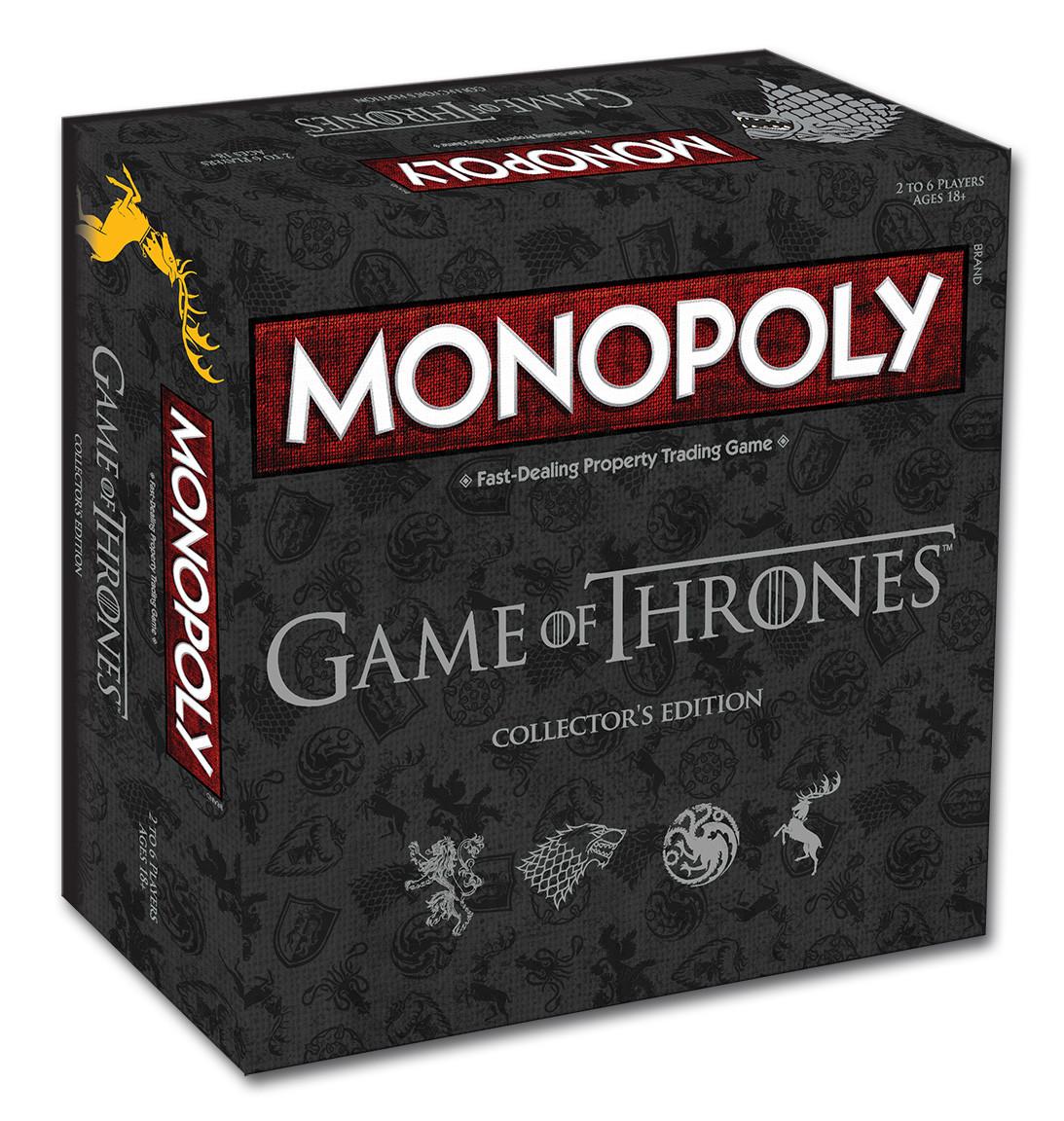 Desková hra Monopoly Game of Thrones (PC)