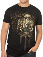 Tričko World of Warcraft Alliance Crest verze 2 (americká vel. S / evropská M) (PC)