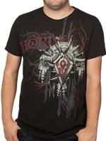 Tričko World of Warcraft Horde Crest verze 2 (americká vel. S / evropská S-M)