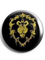 Odznak World of Warcraft - Alliance Logo Pin