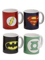 Hrnek DC Comics - Espresso Sada - 4 ks