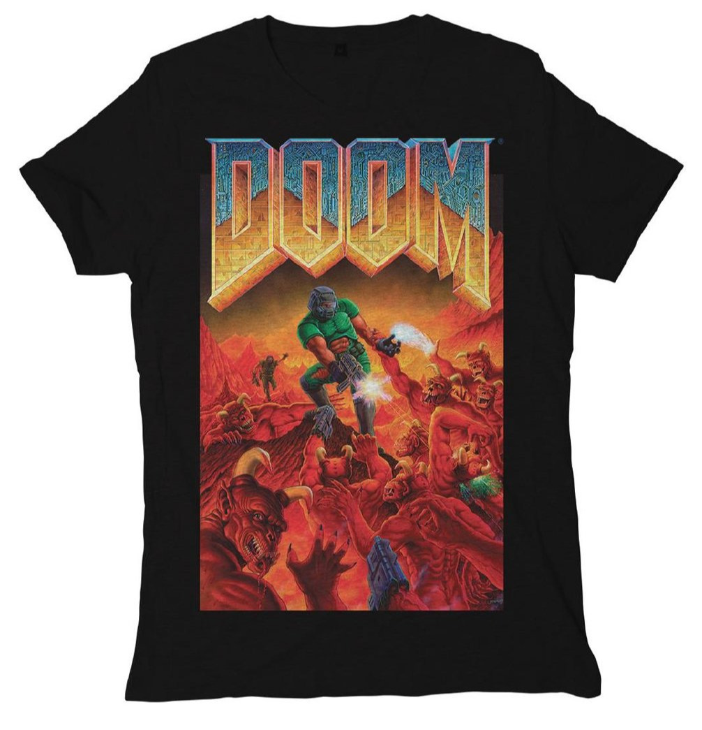 Tričko Doom - Cover (velikost L)