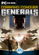 Command and Conquer : Generals - anglická verze (PC)