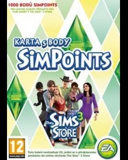 The Sims 3 1000 bodů (DIGITAL)