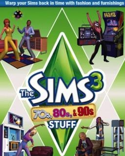 The Sims 3 70s, 80s and 90s Stuff (DIGITAL)