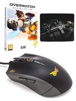 Balíček Overwatch + STRIX Claw myš + podložka