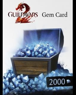 Guild Wars 2 2000 Gem Card (DIGITAL)