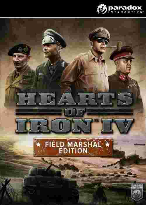 Hearts of Iron IV: Field Marshal Edition (PC/MAC/LINUX) DIGITAL