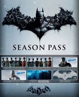 Batman Arkham Origins Season Pass (PC DIGITAL) (PC)