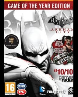 Batman Arkham City - Game of the Year Edition (PC DIGITAL)