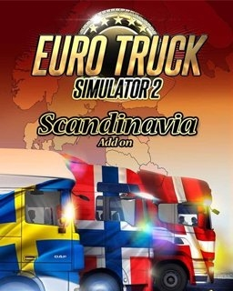Euro Truck Simulátor 2 Scandinavia (PC DIGITAL)