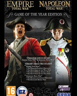 Empire Total War + Napoleon Total War (DIGITAL)