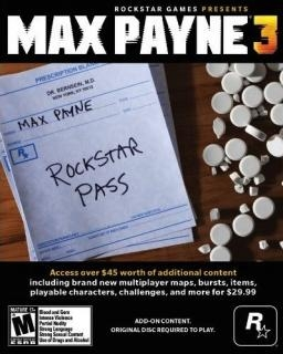 Max Payne 3 Rockstar Pass (DIGITAL)