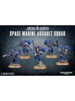 W40k: Space Marine Assault Squad (5 figurek)