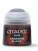 Citadel Base Paint (Abaddon Black) - základní barva, černá