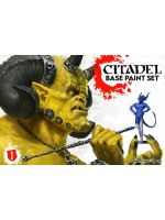 Citadel Base Paint Set (11 barev a štětec)