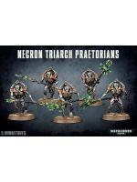 W40k: Necron Triarch Praetorians (5 figurek)