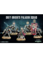 W40k: Grey Knights Paladin Squad (5 figurek)