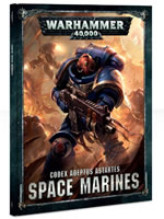 Kniha W40k: Codex: Space Marines (2017)