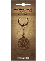 Klíčenka Uncharted 4 - Pirate Coin