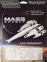 Model lodi Mass Effect - Normandy SR-2 Laser-Cut