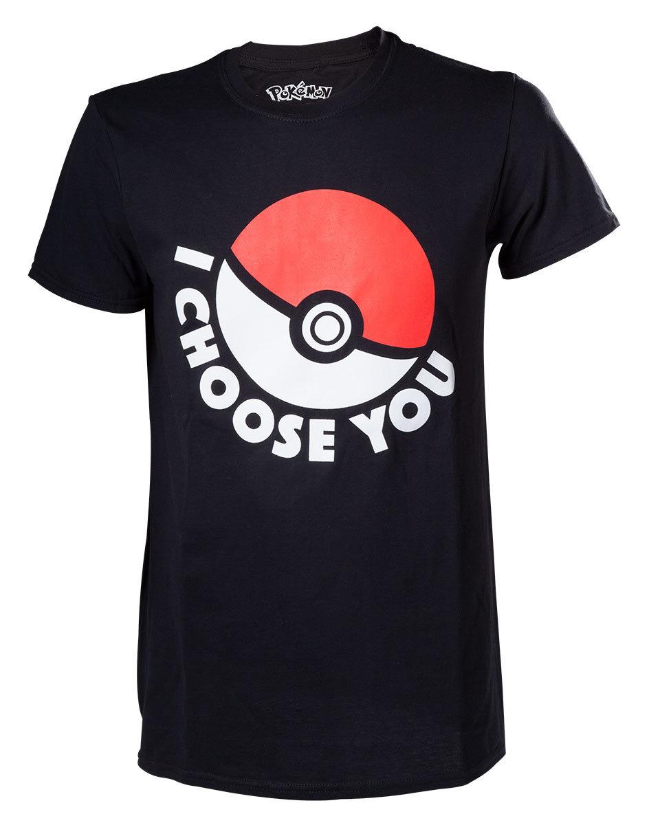Tričko Pokémon - I Choose You (velikost M) (PC)