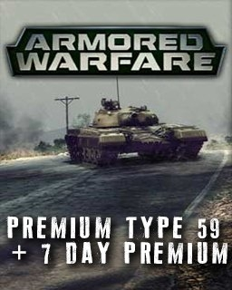 Armored Warfare Premium Type 59 + 7 day Premium (DIGITAL)