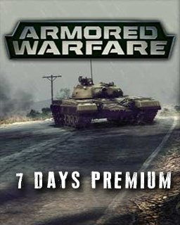 Armored Warfare 7 Days premium (DIGITAL)
