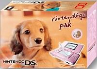 Nintendo DS Lite Pink Nintendogs Daschshund Pak (NDS)