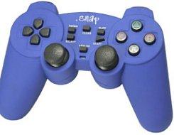 Analogový ovladač Snap - modrý (PS2)