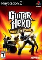 Guitar Hero IV: World Tour + kytara a bubny (PS2)