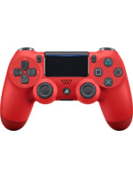 DualShock 4 ovladač - Červený (PS4)