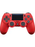 DualShock 4 ovladač - Červený V2 (PS4)