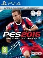Realistický fotbalový simulátor Pro Evolution Soccer 2015 pro PS4