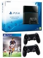 Konzole PlayStation 4 - 1TB + FIFA 16 + 2x ovladač (PS4)