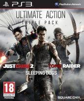 Ultimate Action Triple Pack (Just Cause 2, Sleeping Dogs, Tomb Raider) (PS3)