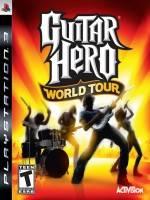 Guitar Hero IV: World Tour + kytara a bubny (PS3)