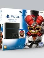 Konzole PlayStation 4 1TB + Street Fighter V (PS4) + DRUHÝ OVLADAČ ZDARMA - POUZE DO 31.10.