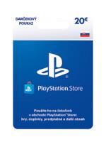 PlayStation Store – Dárková karta 20€ [pro SK účty] (PS4)