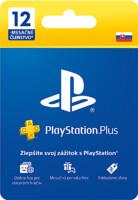 PlayStation Plus - členství na 12 měsíců [PRO SK ÚČTY] (PS4)