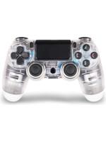 DualShock 4 ovladač - Crystal (průhledný) V2