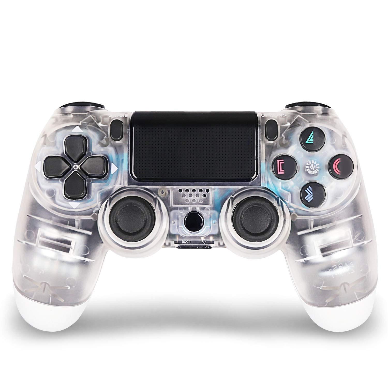 DualShock 4 ovladač - Crystal (průhledný) V2 (PS4)