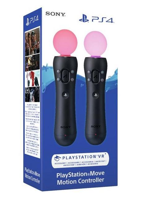 Pohybový ovladač PlayStation Move - Twin Pack (PS4)