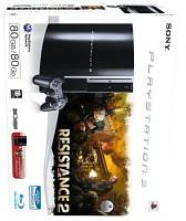 PlayStation 3 - 80GB + Resistance 2 (PS3)