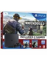 Konzole PlayStation 4 Slim 1TB + Watch Dogs 2 + Watch Dogs (PS4)