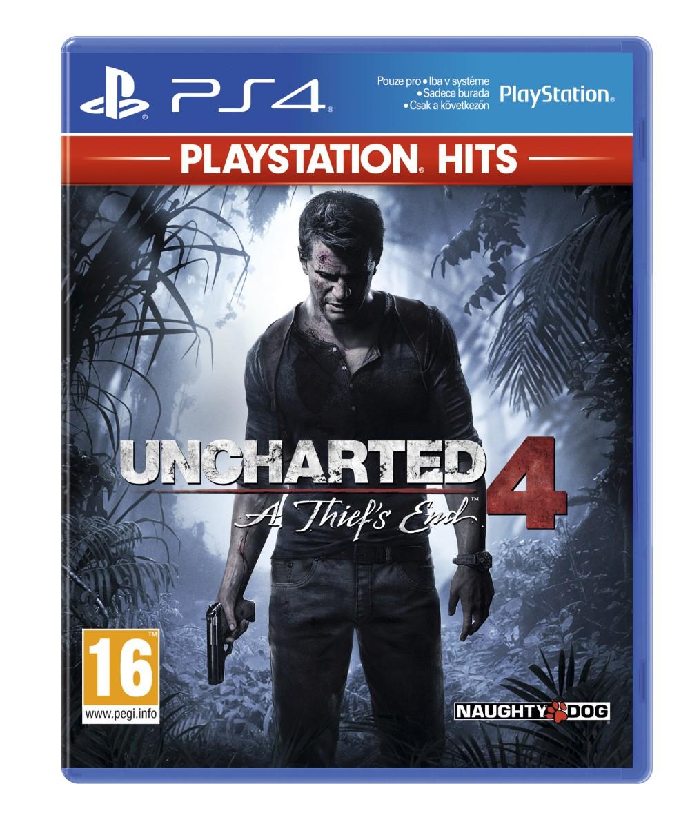 Uncharted 4: A Thiefs End BAZAR (PS4)