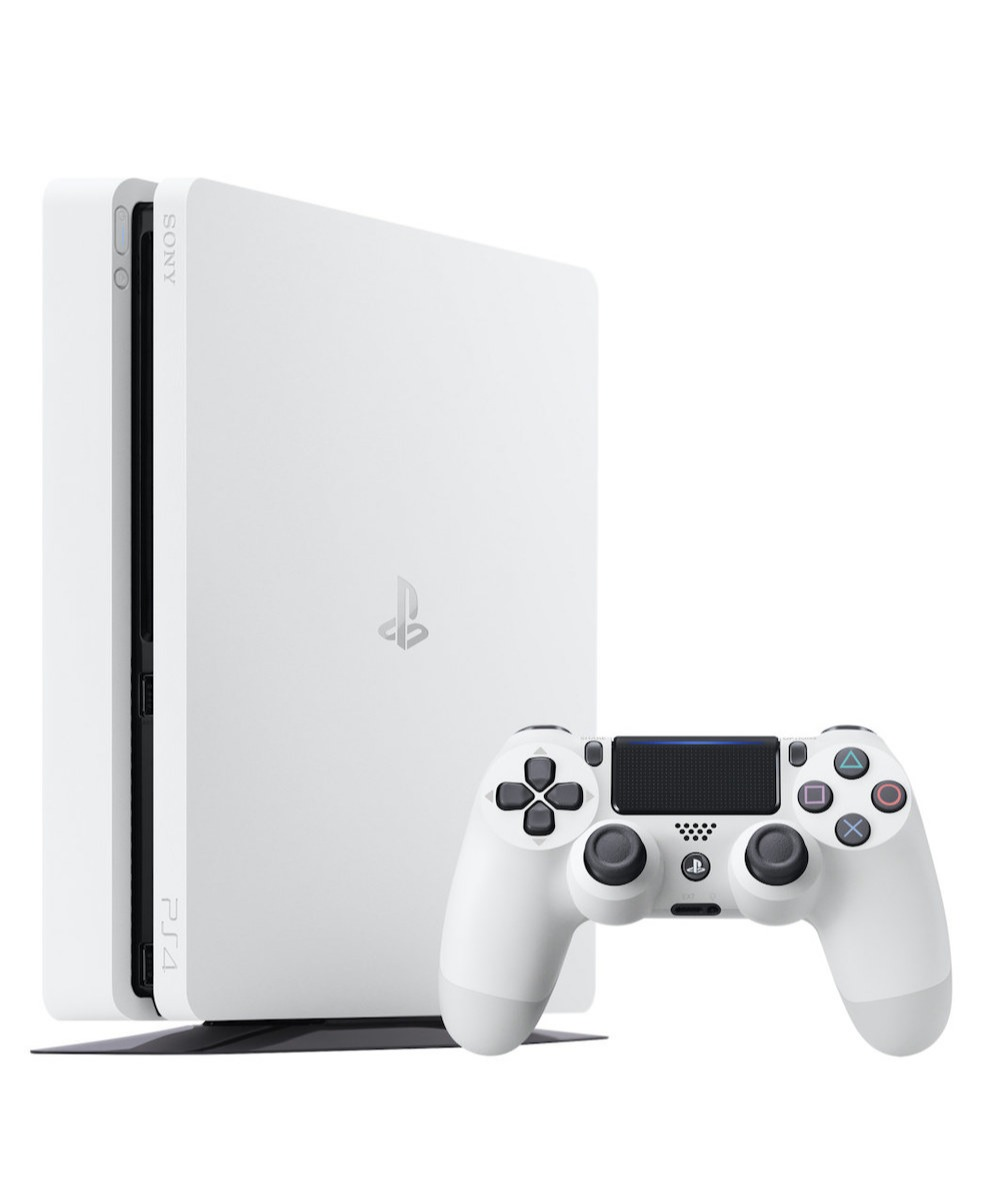 Konzole PlayStation 4 Slim 500GB - Glacier White (PS4)