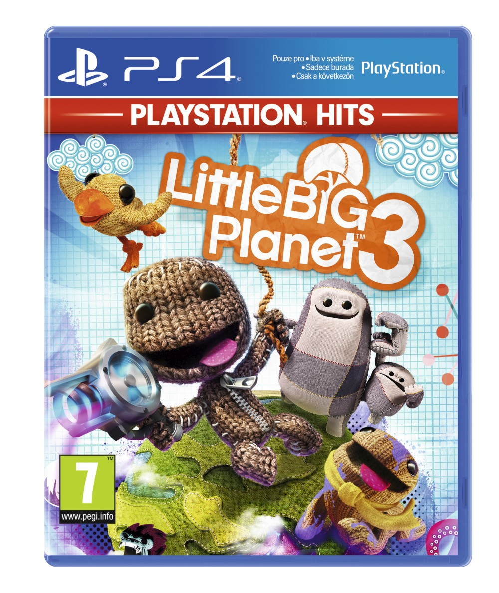 LittleBigPlanet 3 BAZAR (PS4)